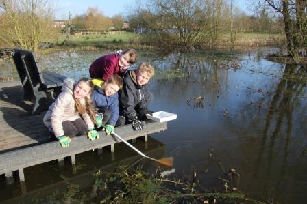 St Lawrence  School kids pond dipping_comp.jpg