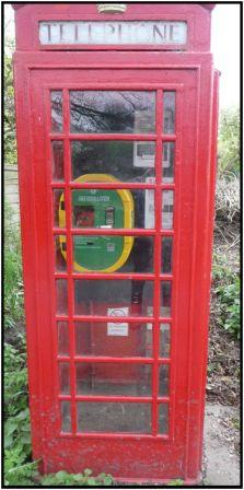Telephone Box at Outwoods
